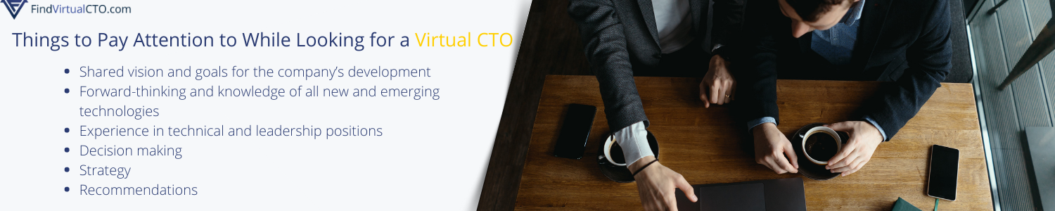 what to pay attention to while choosing cto consultancy executor